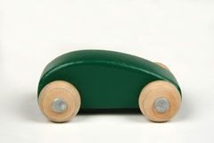 Wooden Car Toy Royalty Free Stock Photo