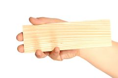 Wooden card Stock Images