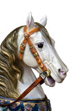Wooden carousel horse Royalty Free Stock Photography
