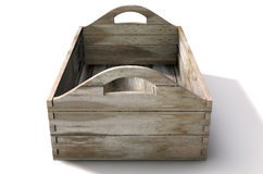 Wooden Carry Crate Stock Photography
