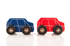 Wooden cars Royalty Free Stock Photo