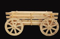 Wooden cart Royalty Free Stock Photography