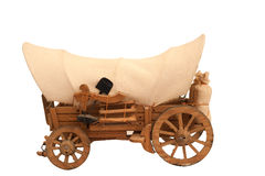 Wooden cart Stock Photos