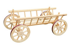 Wooden cart Royalty Free Stock Photos