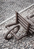 Wooden cart Stock Photography