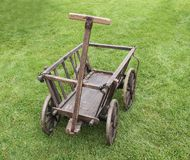 Wooden Cart. Royalty Free Stock Photography