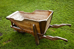 Wooden carts Stock Images
