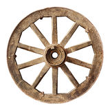Wooden cartwheel Royalty Free Stock Photo