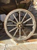 Wooden cartwheel Royalty Free Stock Image