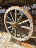 Wooden cartwheel Stock Image