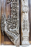 Wooden carved art Stock Images