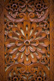 Wooden carving Royalty Free Stock Image