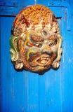 Doorway Carving Stock Images
