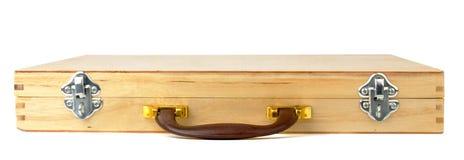 Wooden case Stock Photos