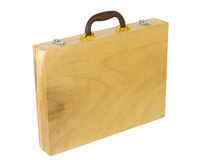 Wooden case Stock Photo