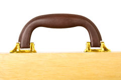 Wooden case Royalty Free Stock Image