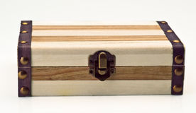 Wooden case Stock Photography