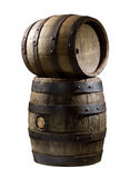 Wooden cask Stock Images