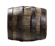 Wooden cask Royalty Free Stock Images