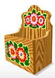 Wooden Casket Stock Image