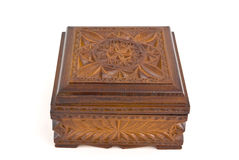 Wooden casket Royalty Free Stock Image