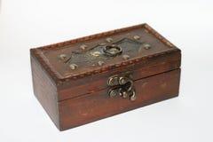 Wooden casket Stock Images
