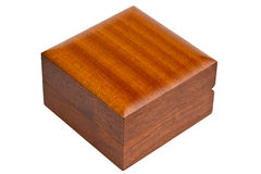 Wooden casket Stock Image