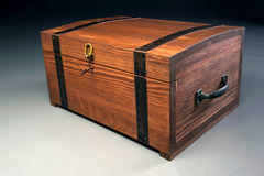 Wooden Casket Royalty Free Stock Photos