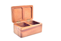 Wooden casket Stock Photos