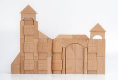 Wooden castle Royalty Free Stock Images