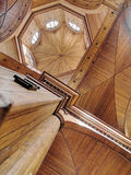 Wooden cathedral dome Stock Image