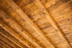 Wooden ceiling Royalty Free Stock Photography