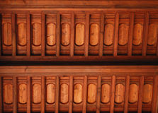 Wooden ceiling building Royalty Free Stock Photography