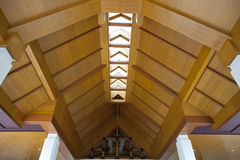 Wooden ceiling Stock Photos