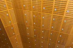 Wooden ceiling Royalty Free Stock Photos