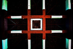 Wooden ceiling Royalty Free Stock Images