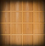 Wooden cell background Stock Photography
