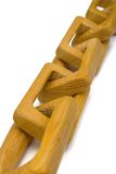 Wooden chain Royalty Free Stock Photo