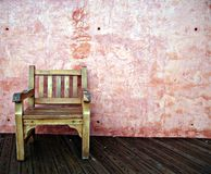 Wooden chair Royalty Free Stock Images