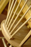 Wooden chair. Abstract of a wooden chair Stock Photo