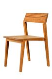 Wooden chair. Isolated on the white background Royalty Free Stock Photos