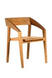 Wooden chair. Isolated on the white background Stock Photo