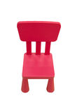 Wooden chair for children Stock Photos