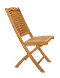 Wooden chair cutout Royalty Free Stock Photo