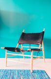 Wooden chair furnitures Stock Photo