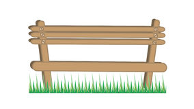Wooden chair illustration Stock Image