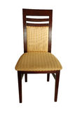 Wooden chair isolated Royalty Free Stock Photography