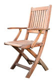 Wooden Chair Isolated Royalty Free Stock Photos