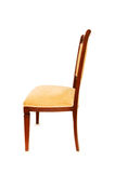 Wooden chair isolated on the white background. Wooden chair isolated  on the white background Stock Image