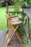 Wooden chair. Royalty Free Stock Images